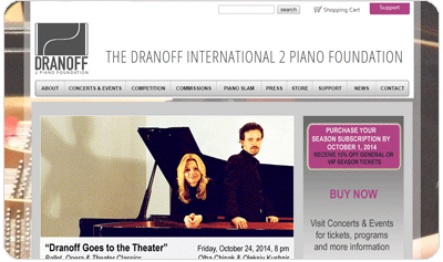 The Dranoff Two Piano Foundation